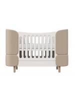 Кроватка-трансформер kidi soft (бежевый)