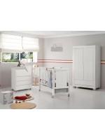 Комплект №11 Micuna Neus: кровать 120*60, комод, шкаф white