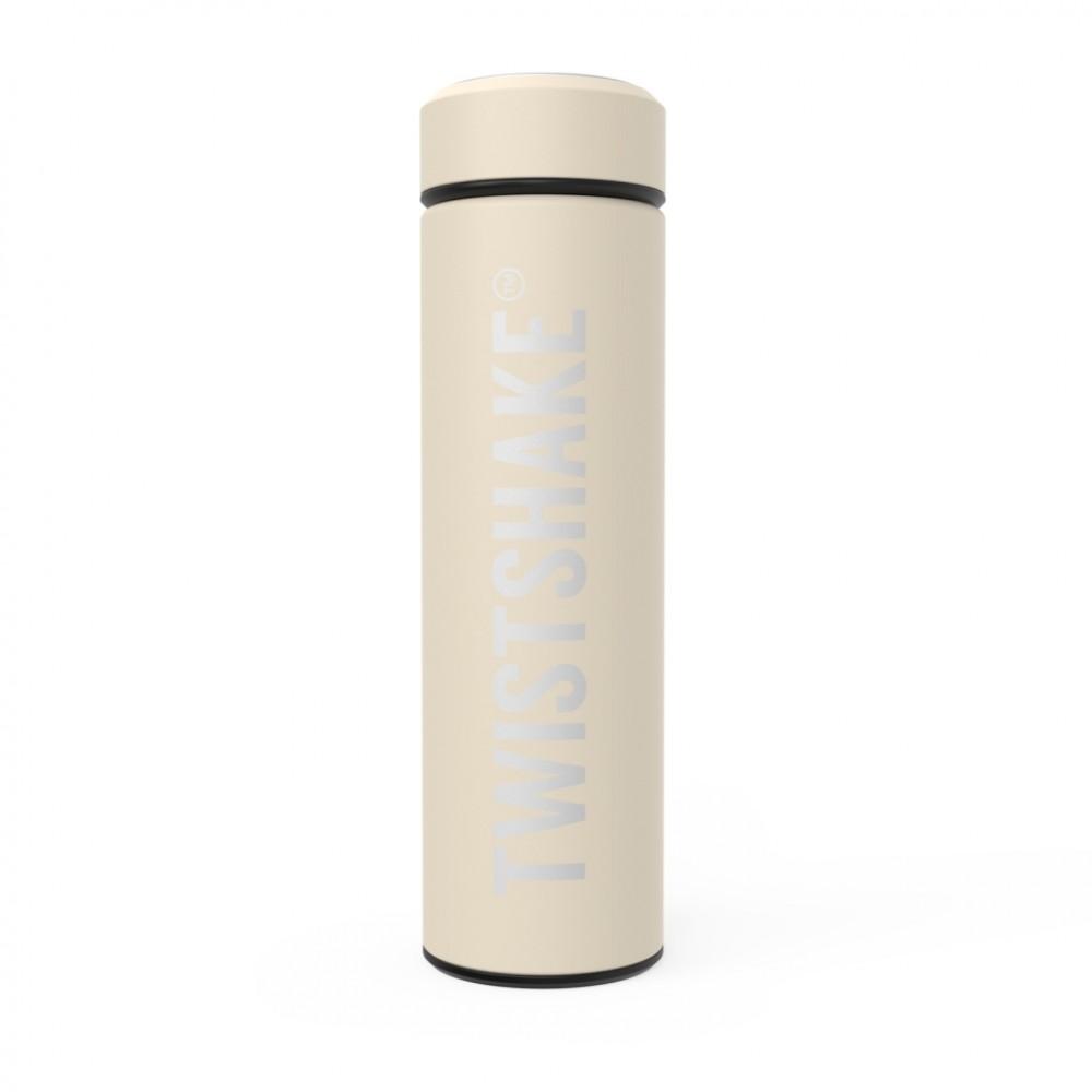 Термос Twistshake Pastel 420 мл бежевый